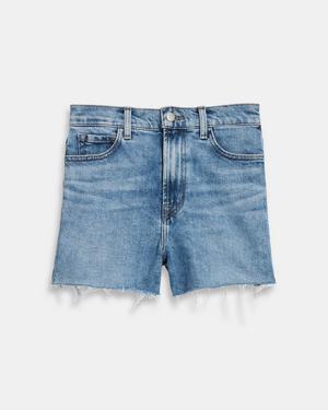 J Brand Jules High-Rise Jean Short in Comfort Stretch