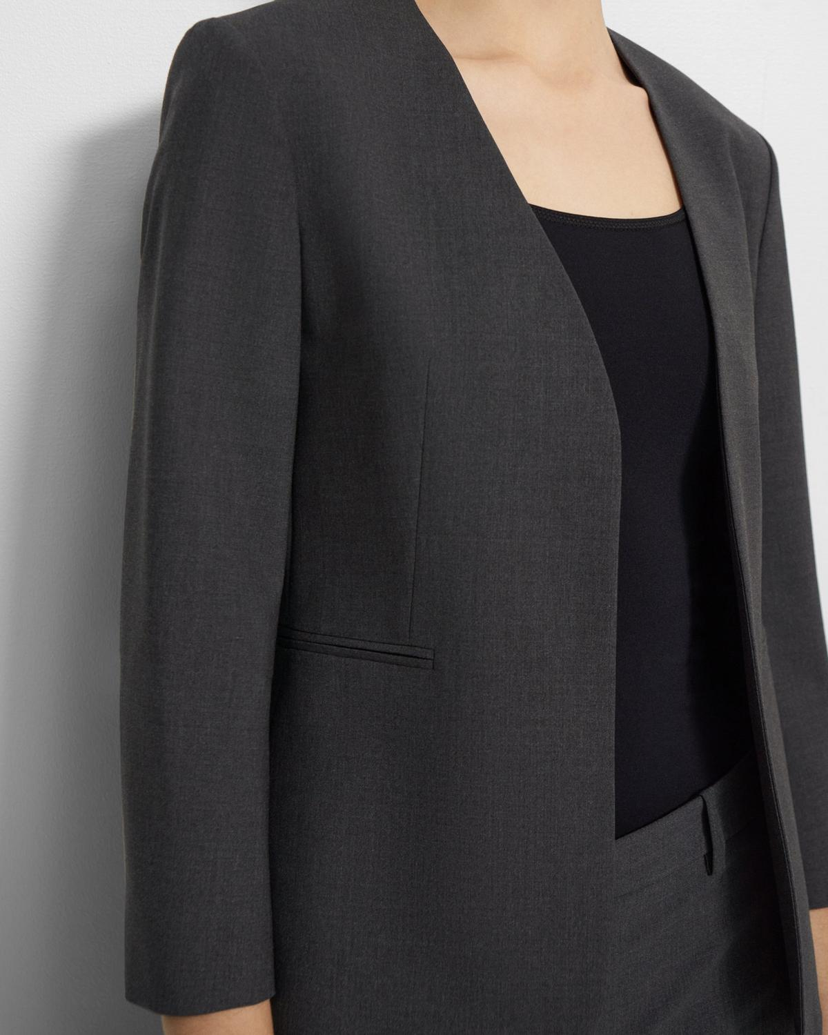 Lindrayia Blazer in Good Wool