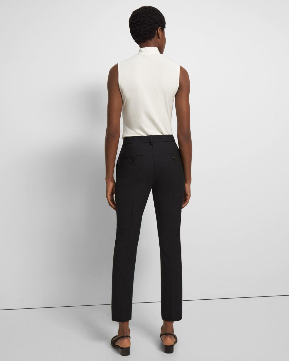 Good Wool Slim Crop Pant