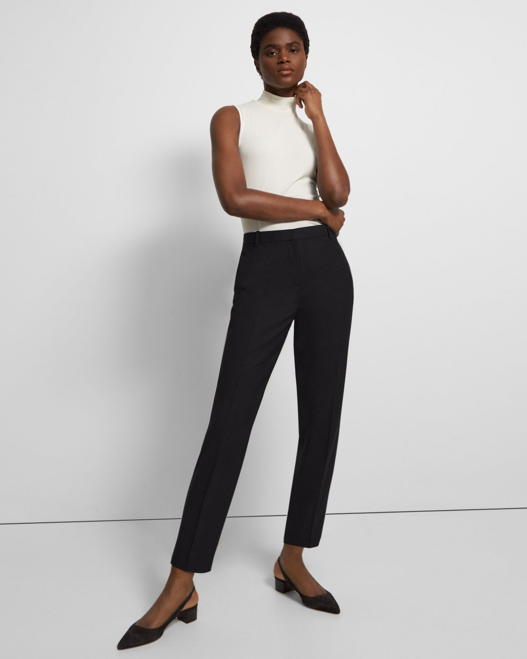 Sale alerts for  Good Wool Classic Slim Crop Pant - Covvet