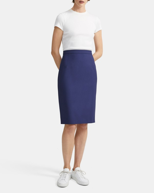 Classic Skirt in Good Wool
