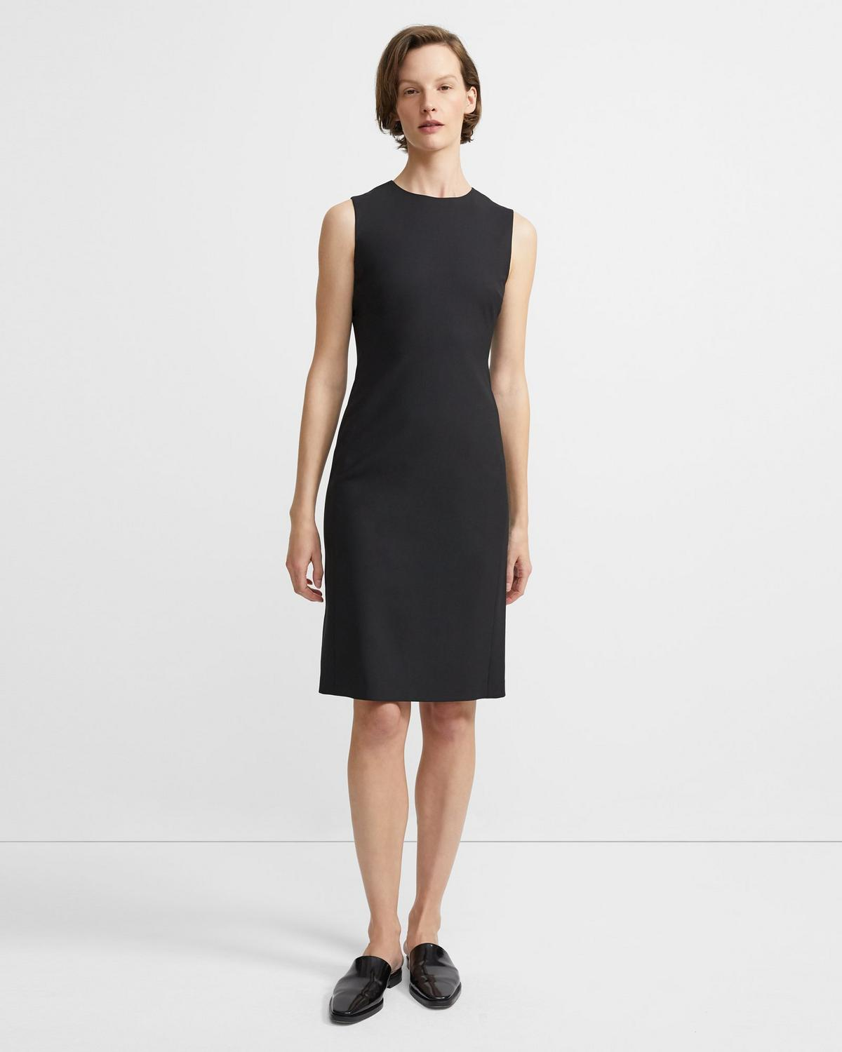 Sheath Dress in Good Wool