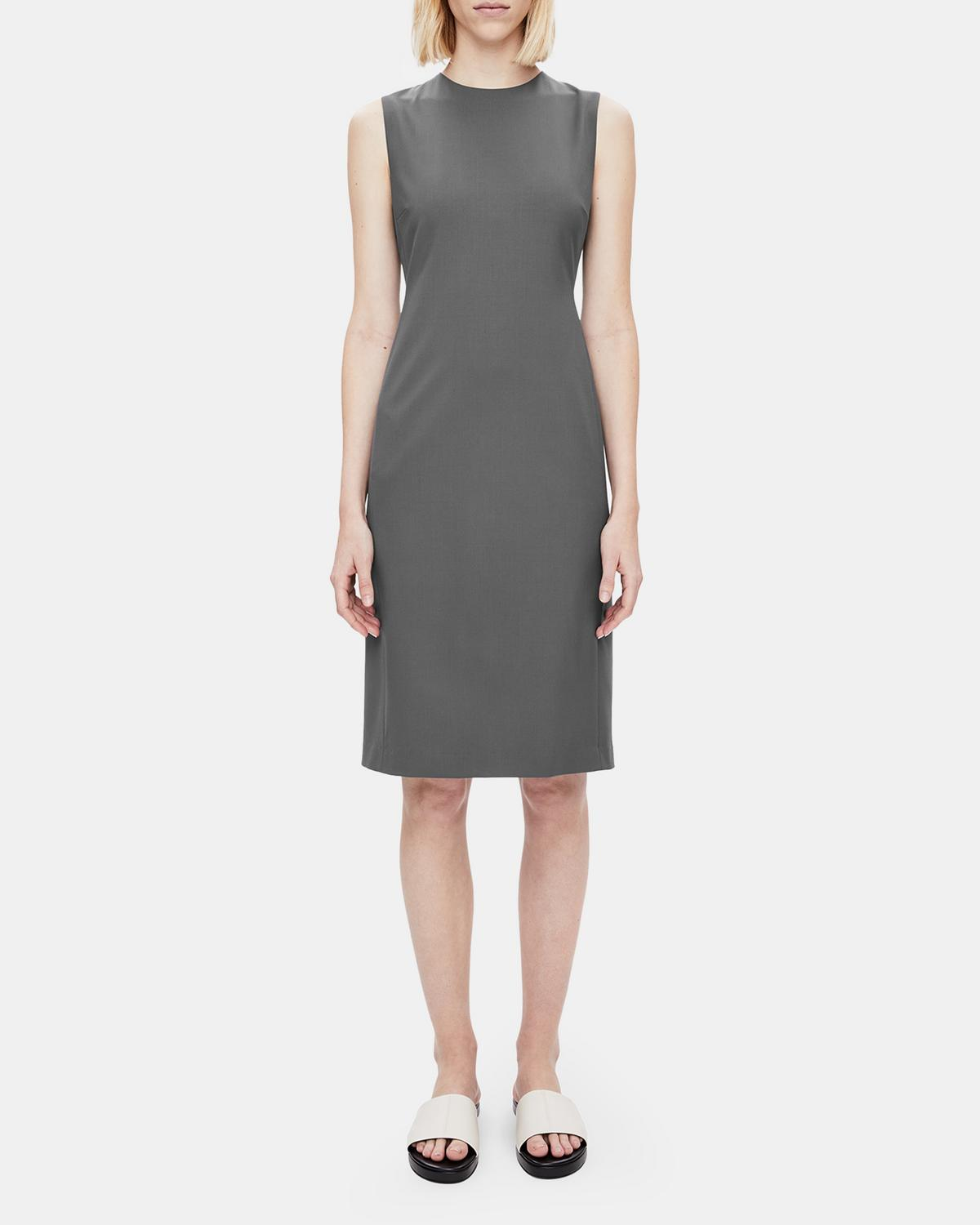 bda2ecc5313 Theory. Extended Sizes Available. Good Wool Classic Dress 0 - click to view  larger image
