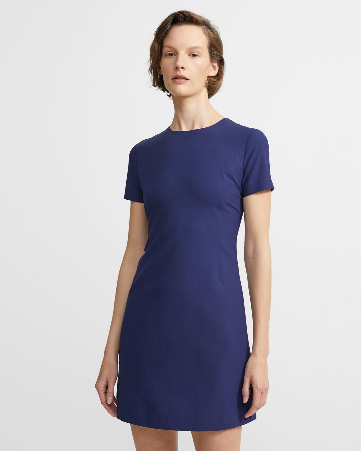 Jatinn Dress in Good Wool