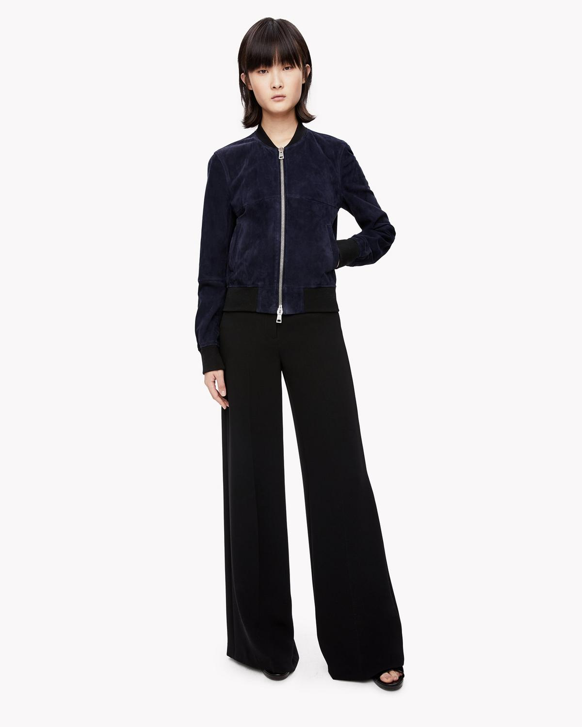 302be7bf6b1 High-Waist Wide-Leg Pant | Theory
