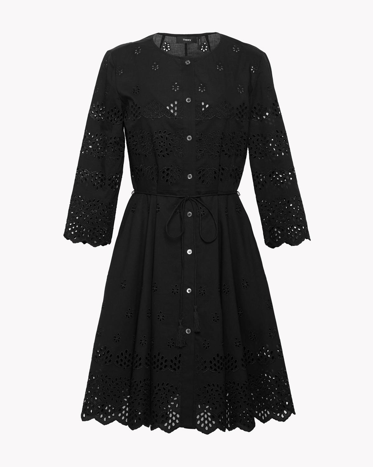 ffd49257f65 Structured Eyelet Shirt Dress 1 - click to view larger image ...
