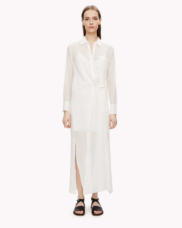 e610f09df2 Cotton Shirt Dress | Theory