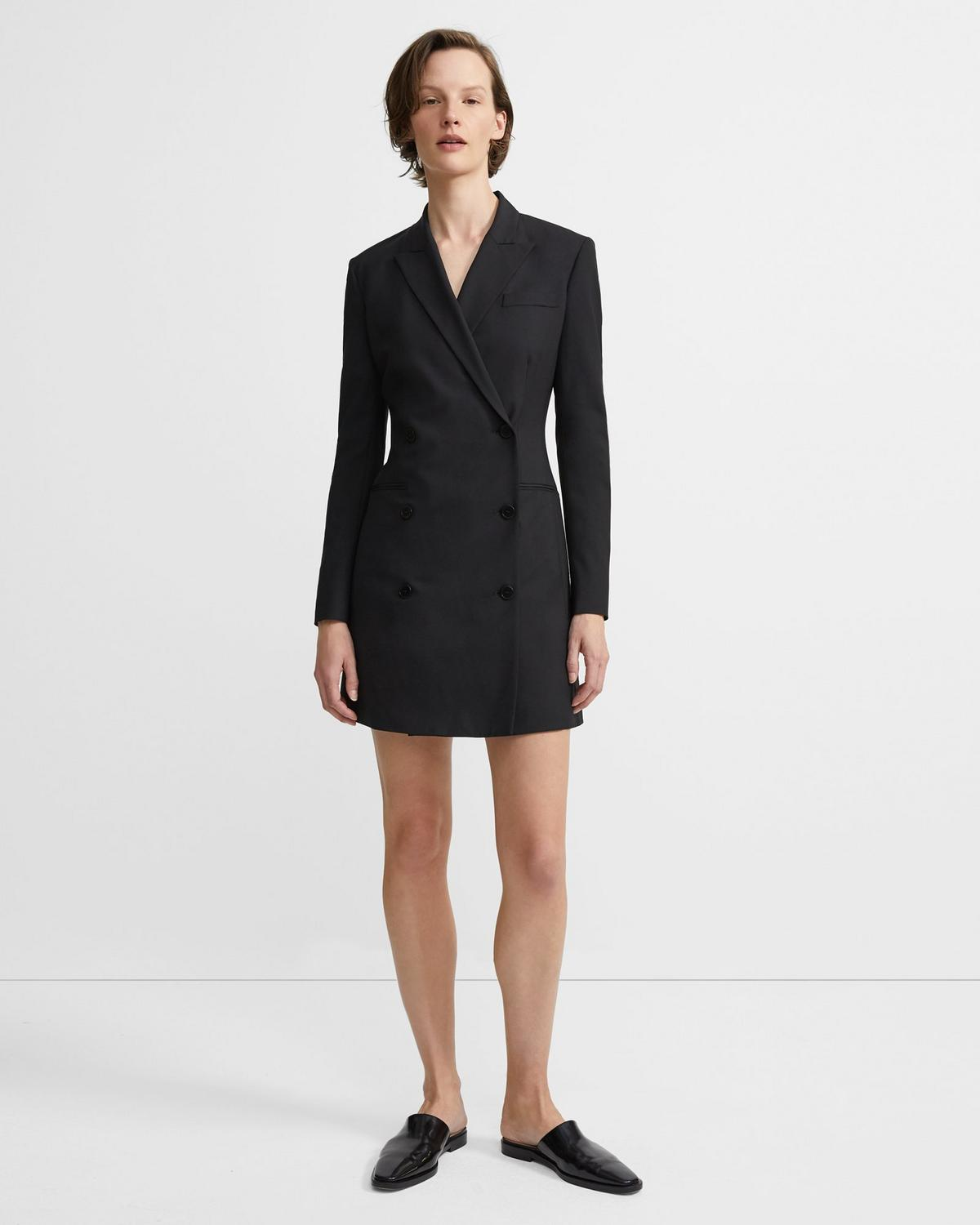 Blazer Dress in Good Wool