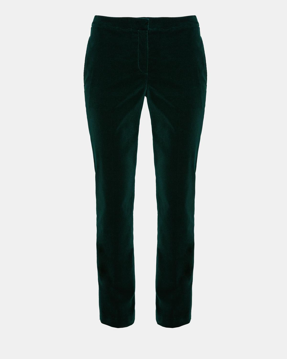 Theory Velvet Low-Rise Pants