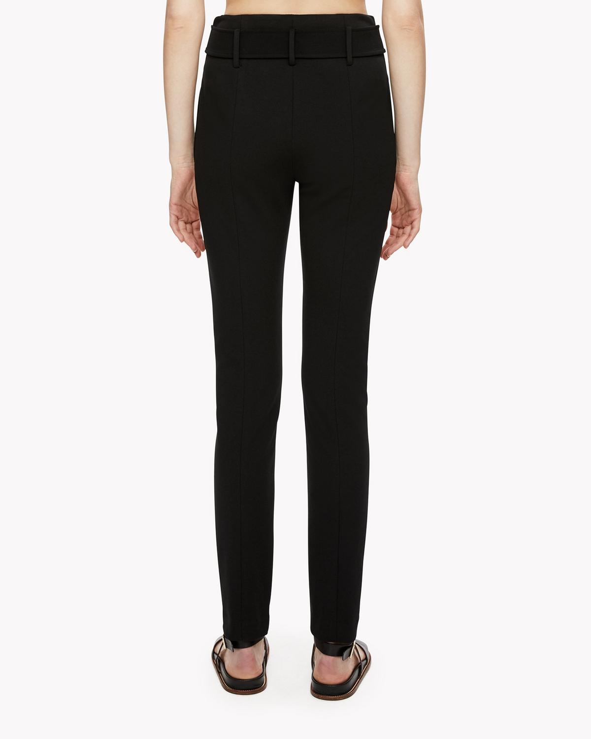Theory cigarette belted trousers Collections Buy Cheap Footlocker Cheap And Nice EQBcL5