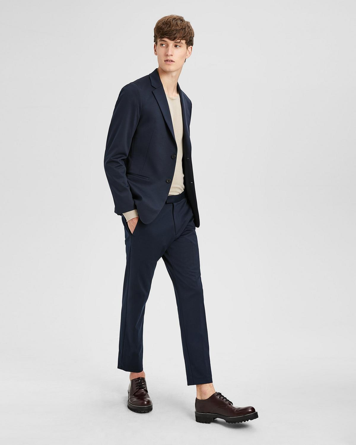 Tech Cotton Semi Tech Blazer