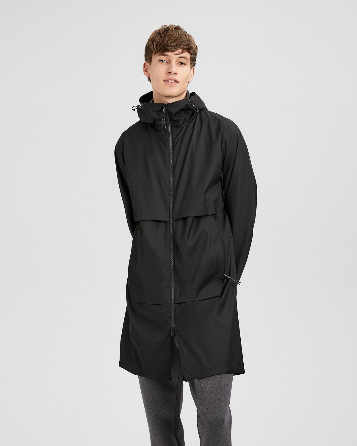 Hooded Tech Parka