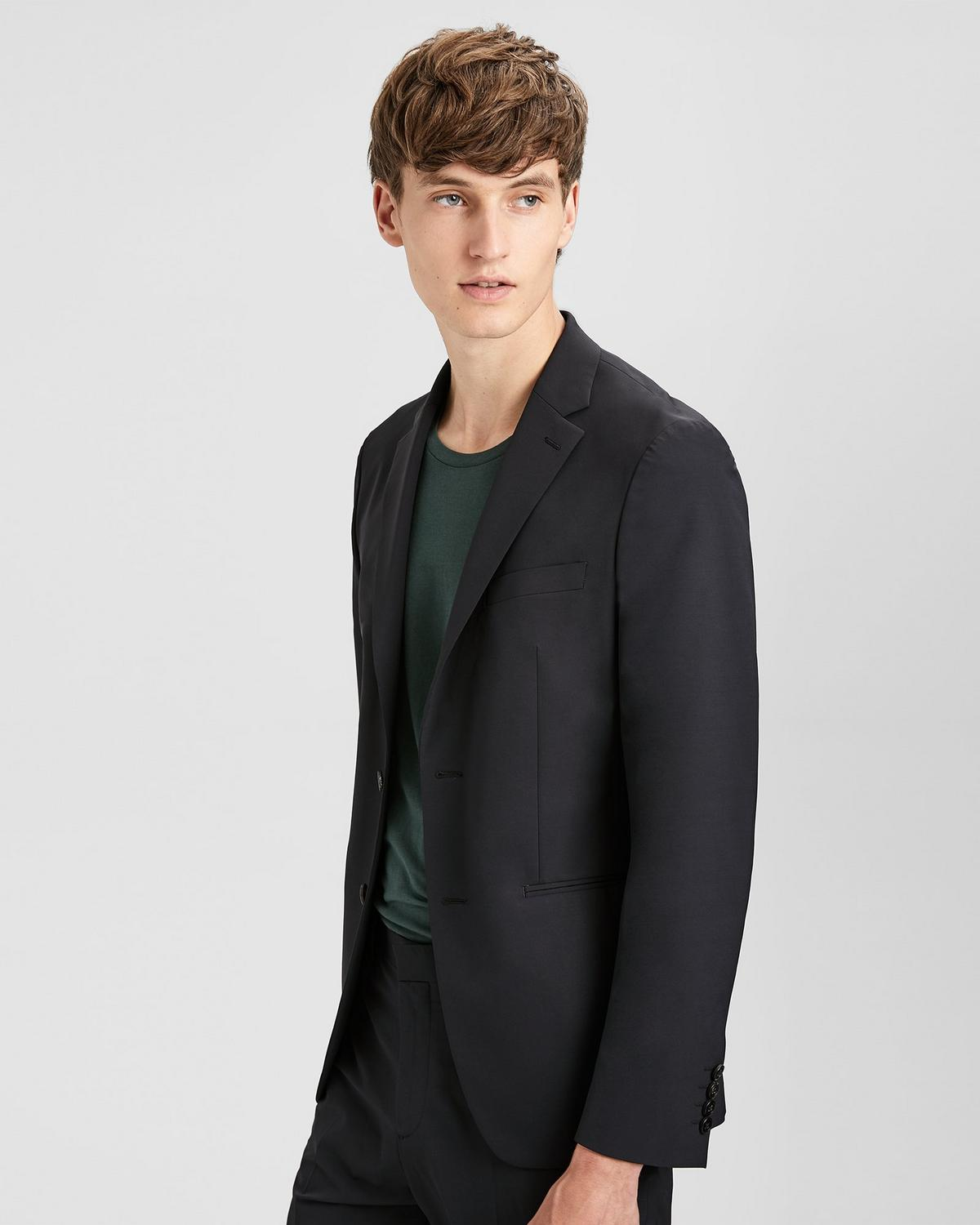 Technical Wool Semi Tech Blazer