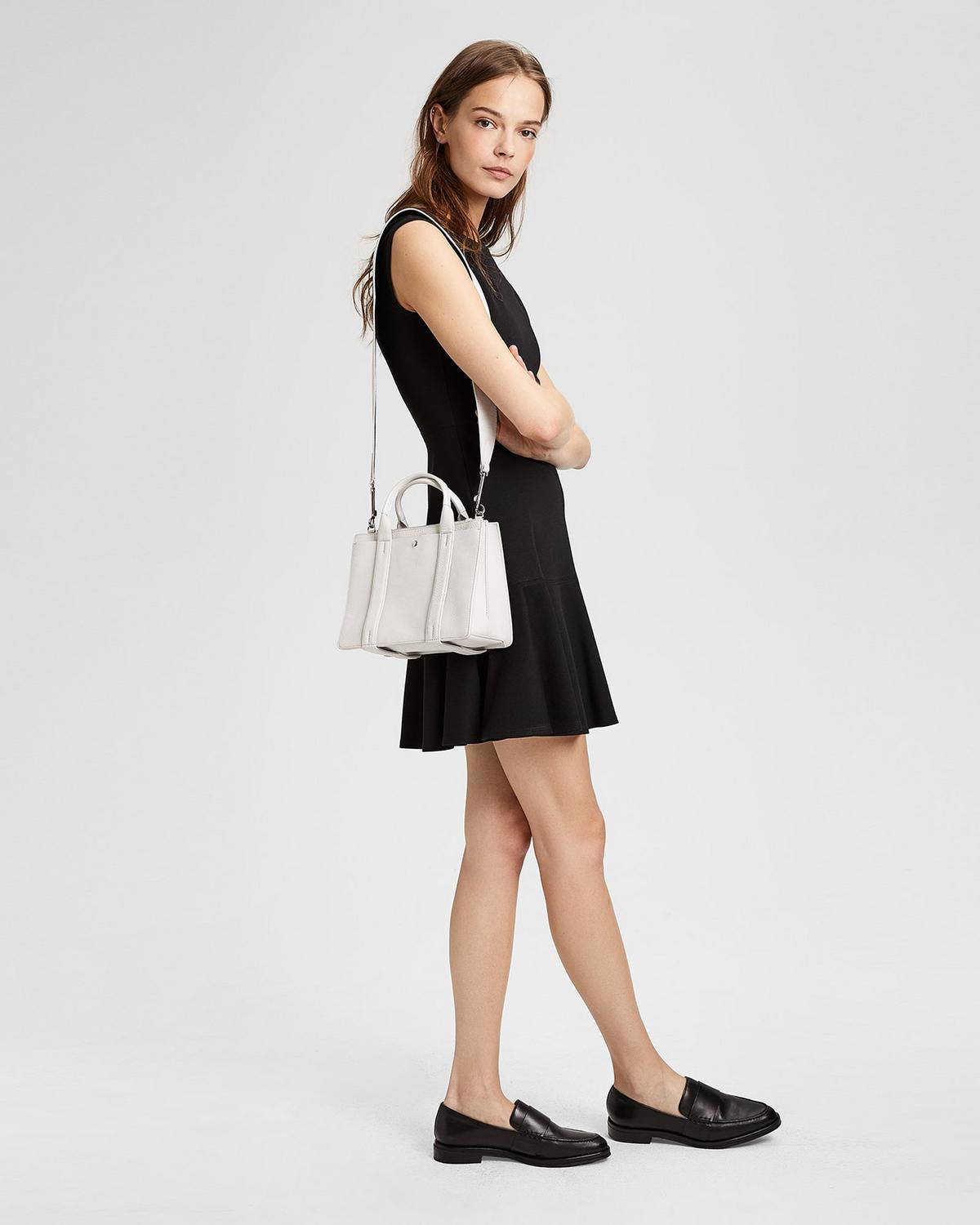 Theory  MINI WEST BAG IN SUEDE