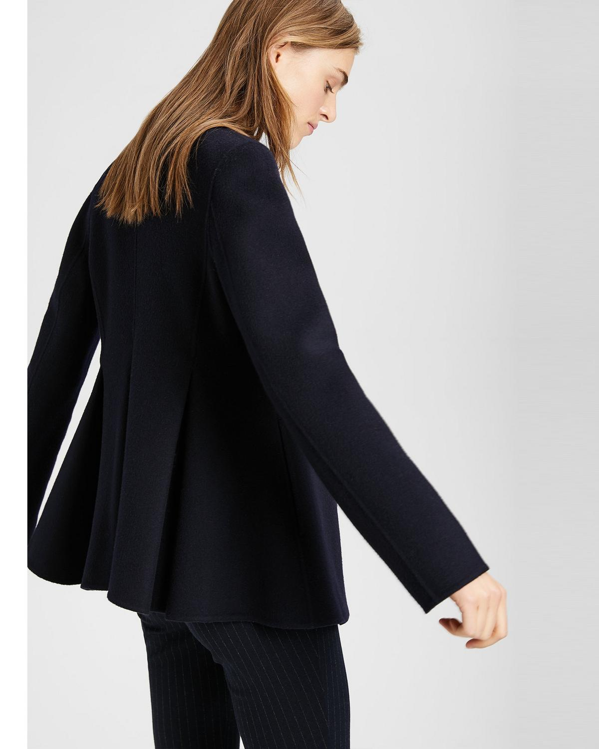 Double-Faced Pleated Jacket
