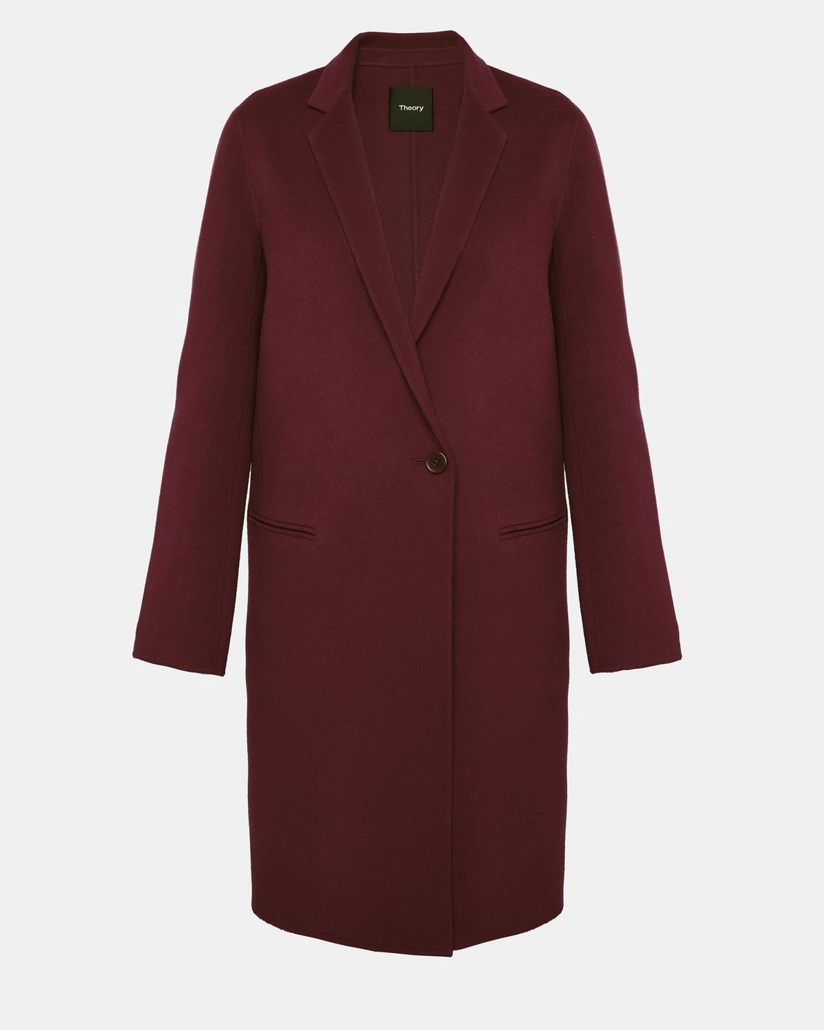 572bd3cf0d6 Double-Faced Essential Coat 1 - click to view larger image ...