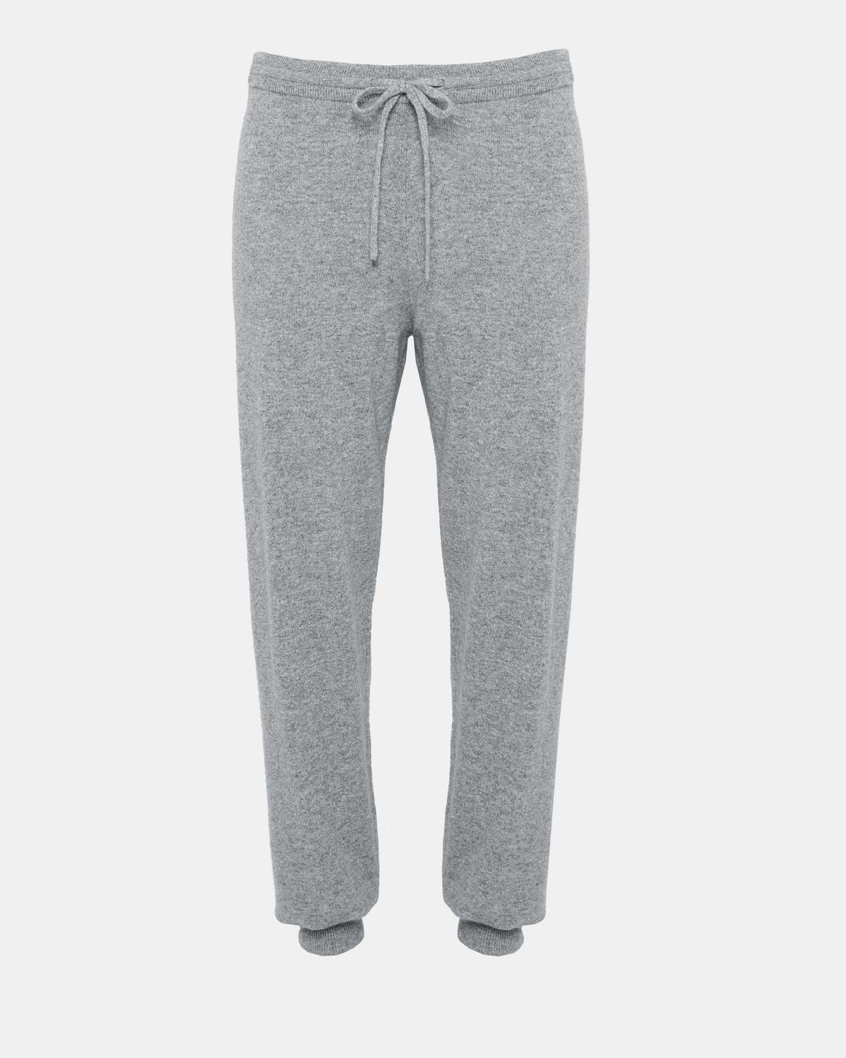 Cashmere Athletic Striped Lounge Pant