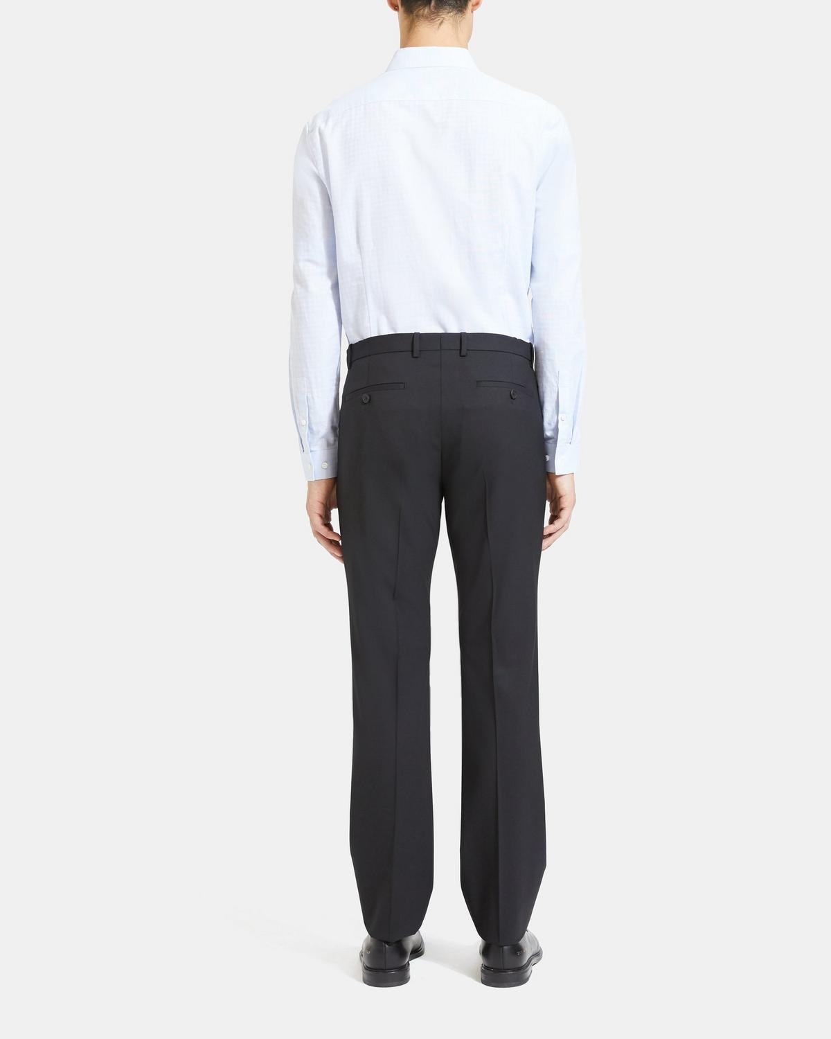 True Royal Mid-Rise Wool Pants