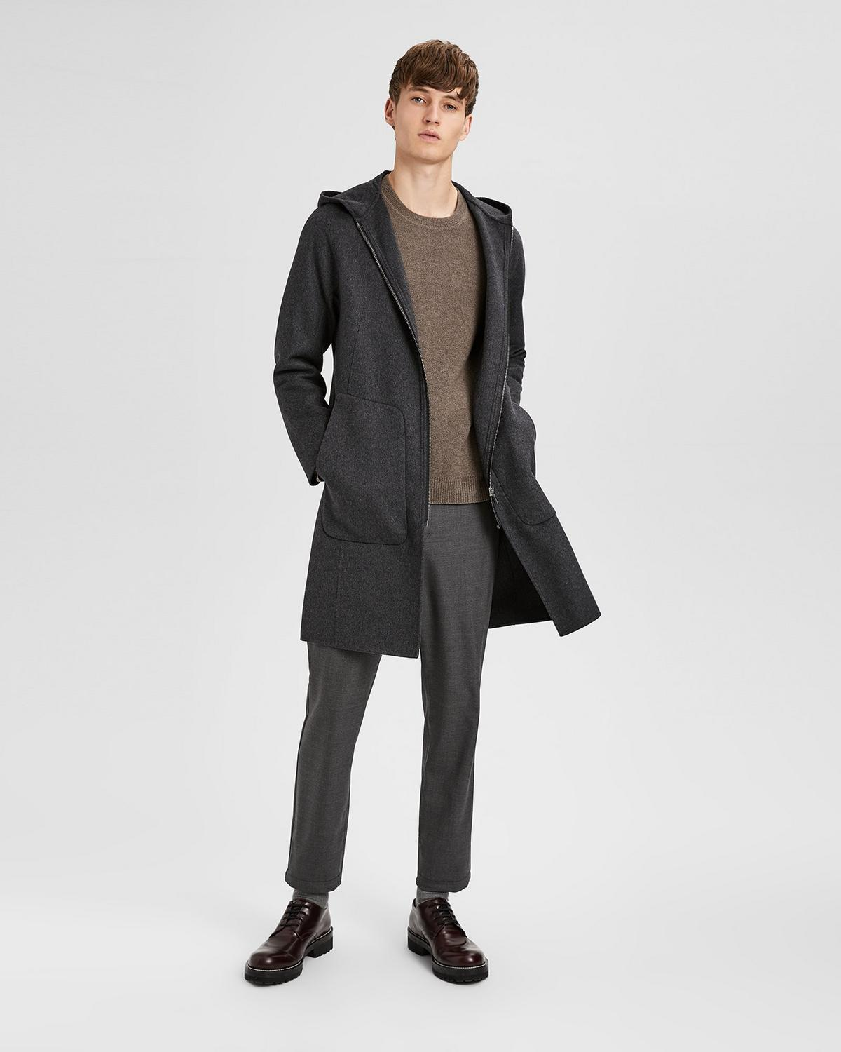 Double-Faced Wool Duffle Coat | Theory