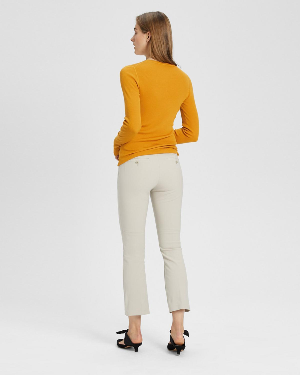 Stretch Cotton Kick Pant