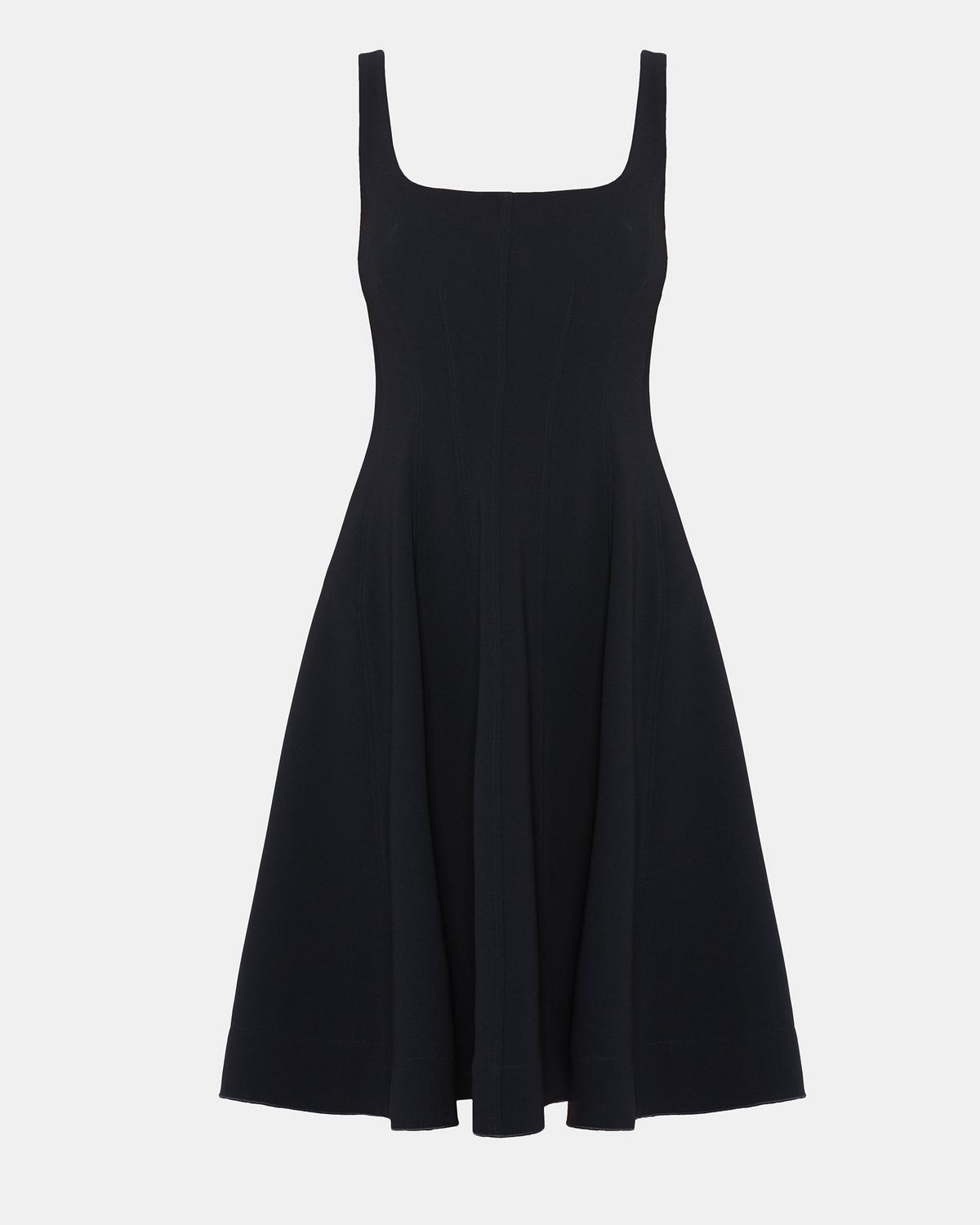 THEORY Modern Flare crepe dress TPXUIY
