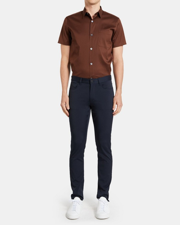 Slim-Fit Five-Pocket Pant In Ascend Tech