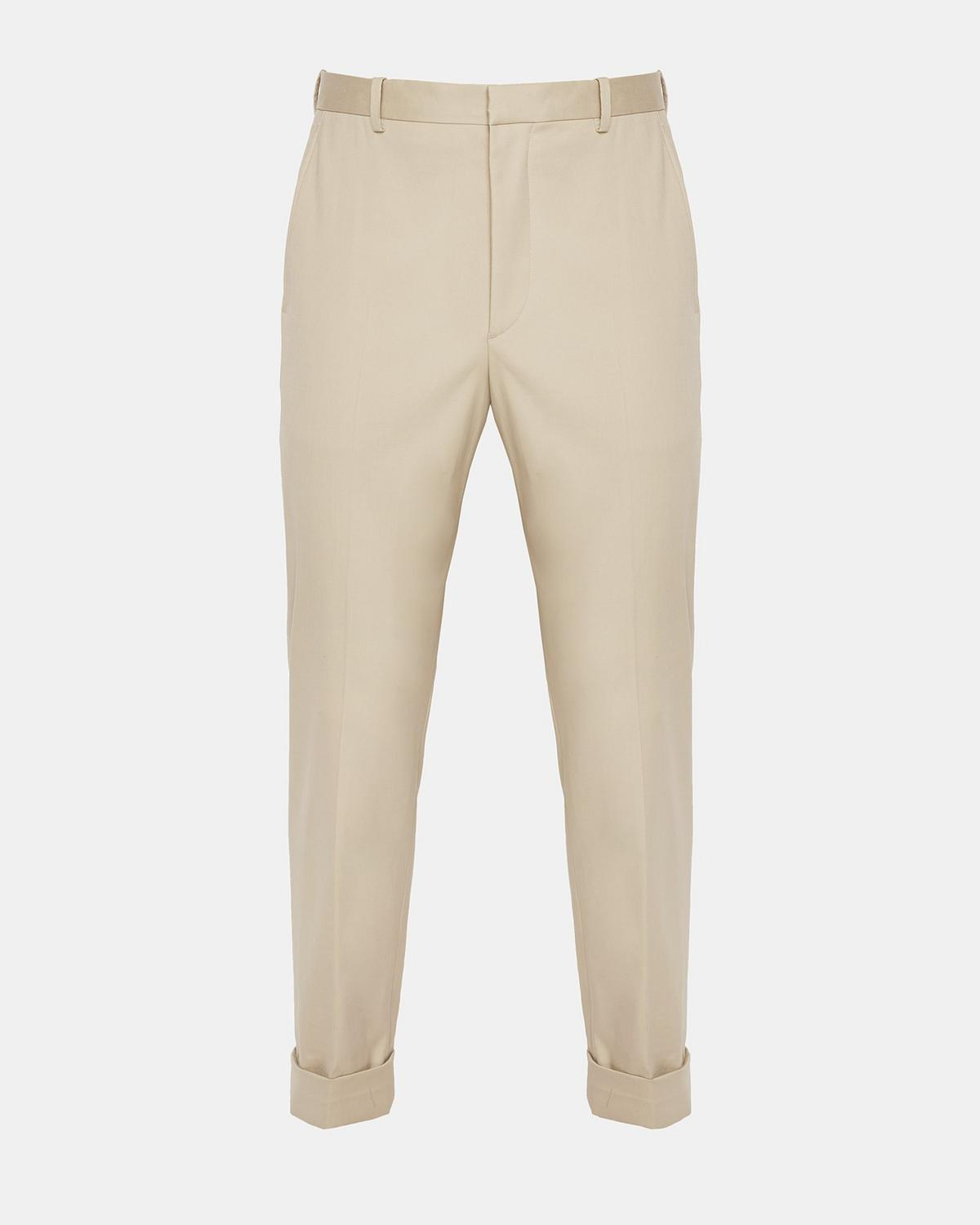 Stretch Cotton Tapered Pant