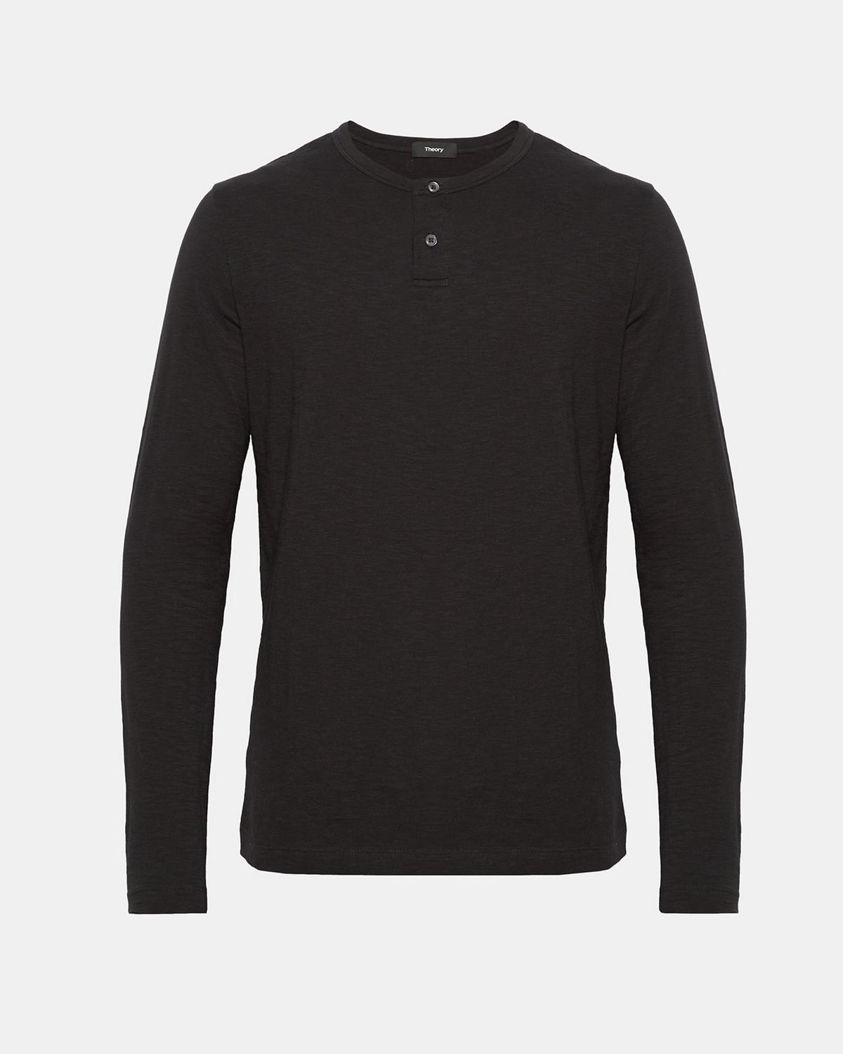 Cotton Henley Shirt