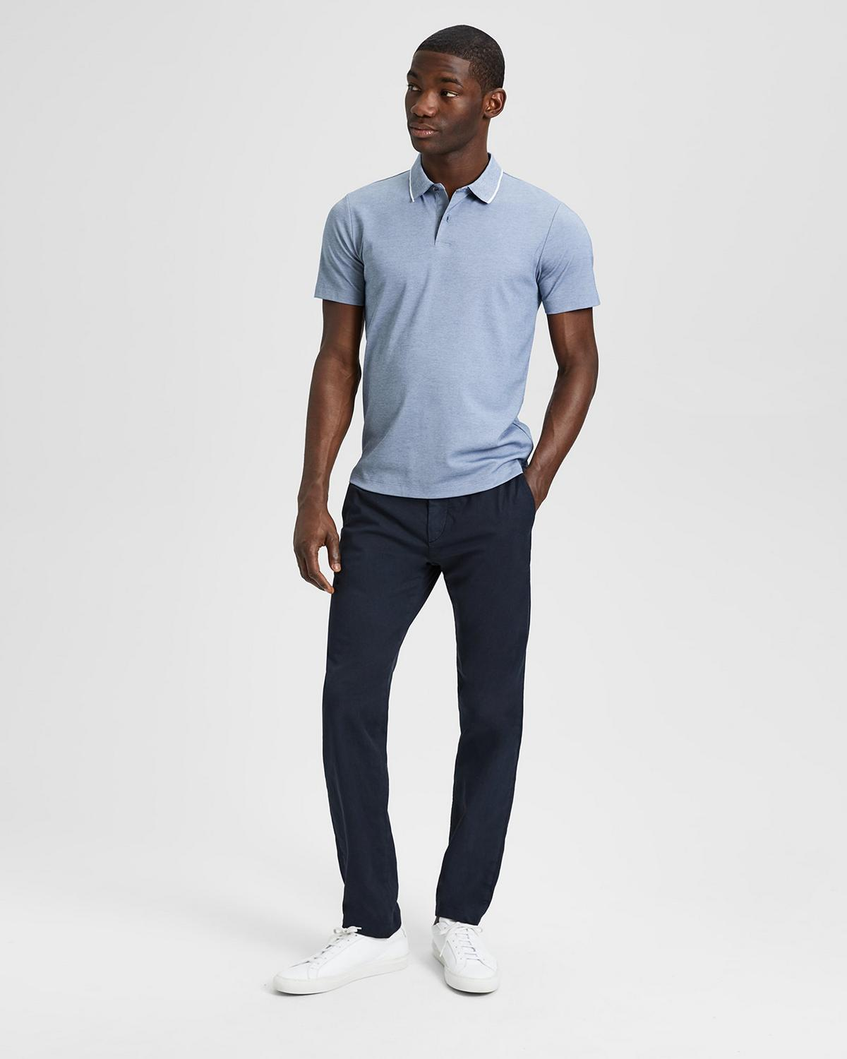 Cotton Pique Standard Polo
