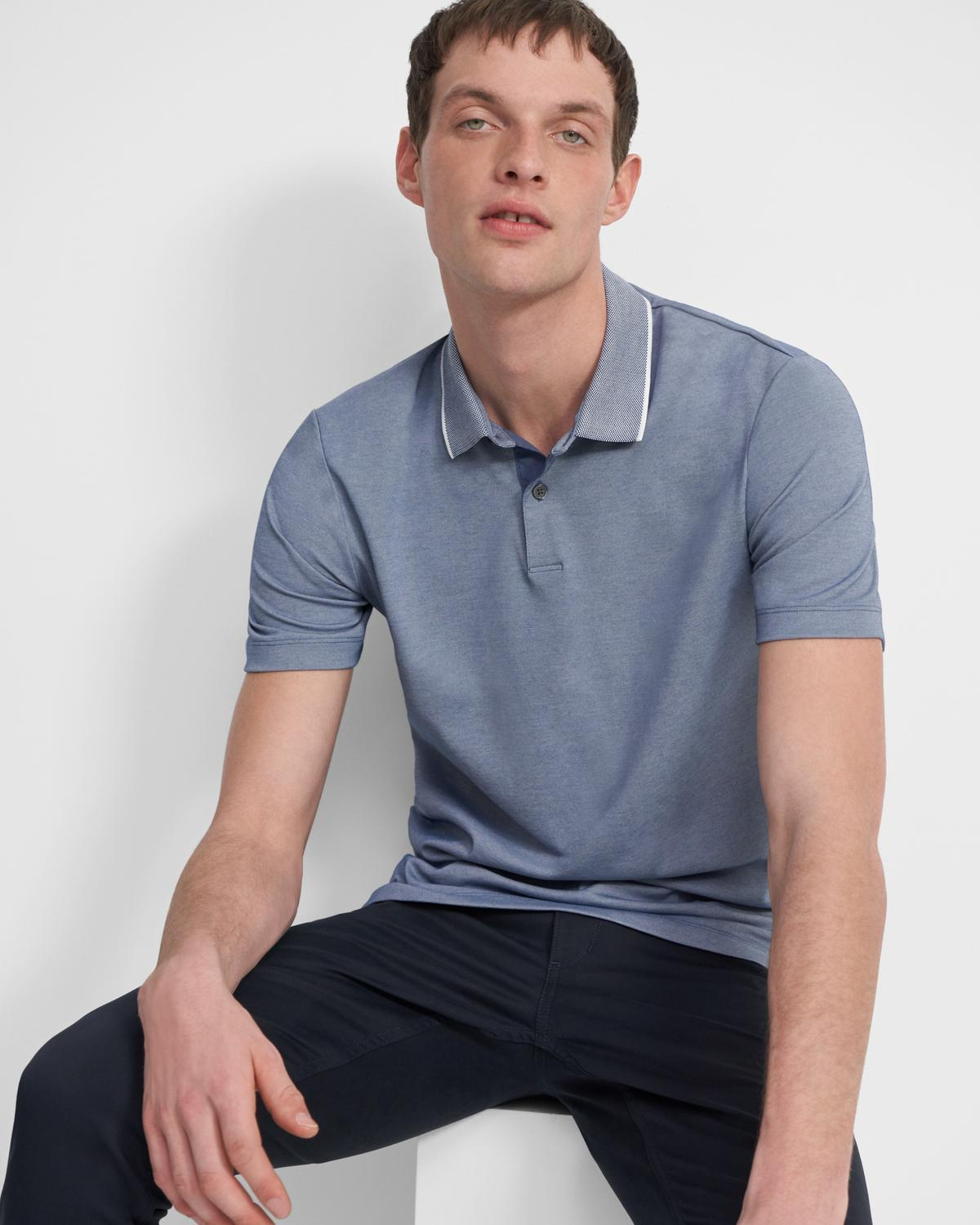 Standard Polo Shirt in Piqué Cotton