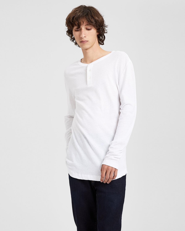 Cotton Core Henley Shirt Theory