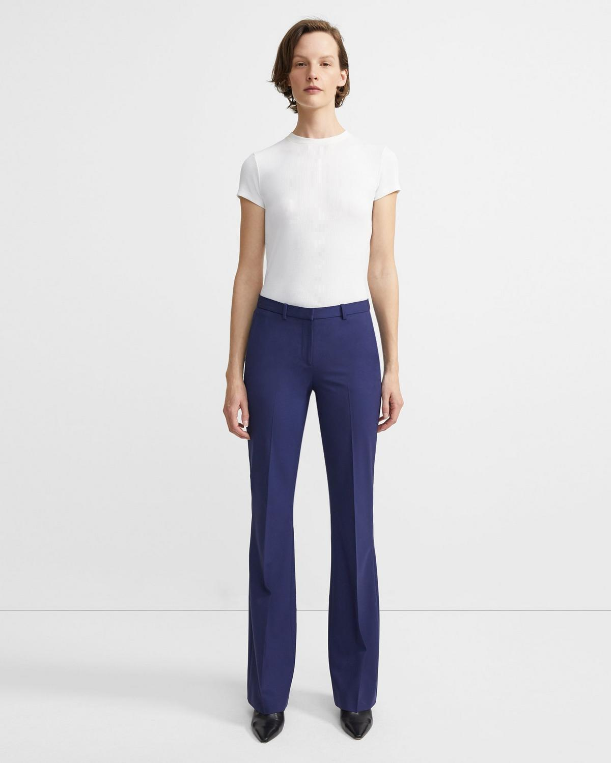 Demitria Pant in Good Wool