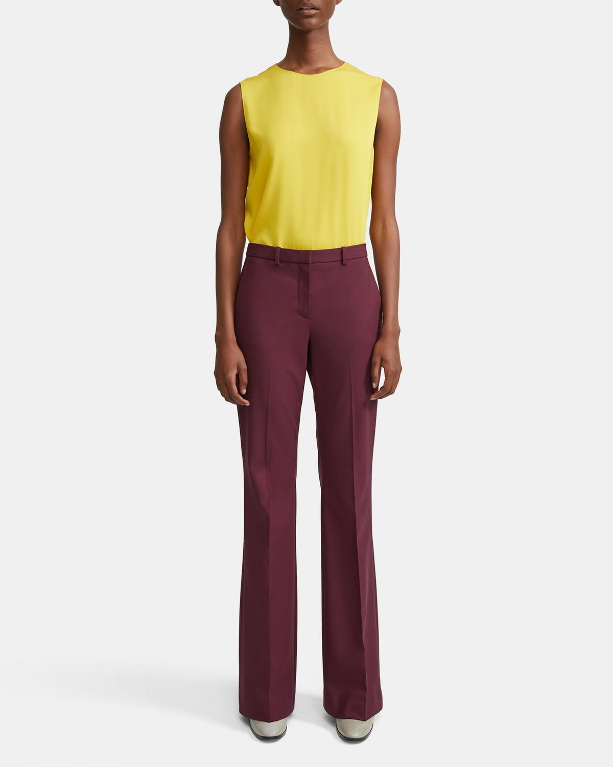 Good Wool Flare Pant