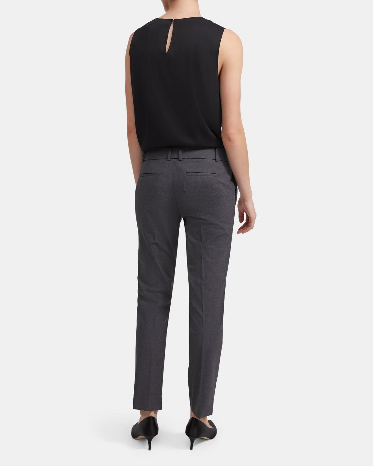 Good Wool Straight Trouser