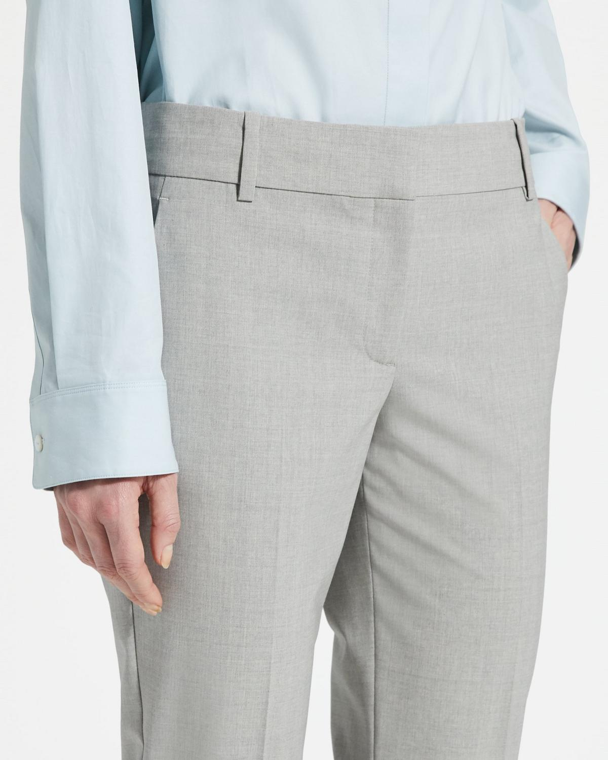 Good Wool Straight Pant