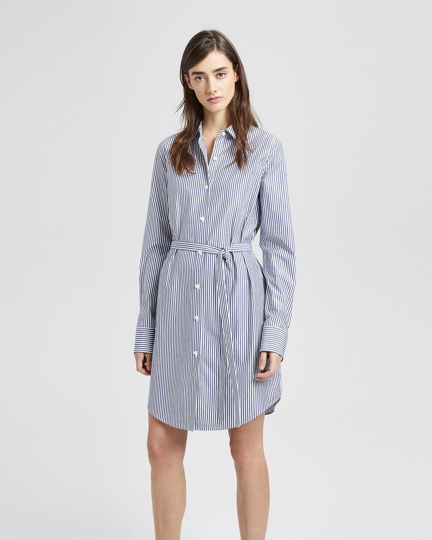 15740fb9eb2 Striped Clean Shirt Dress