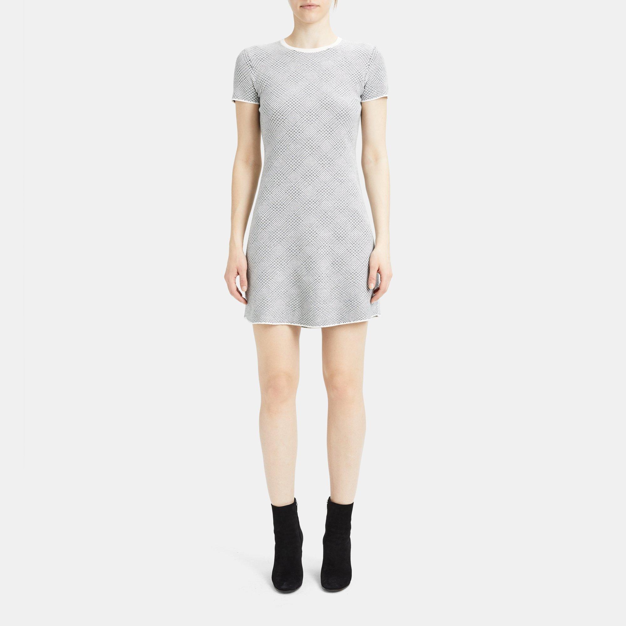 2344620a28b9 Knit Crewneck Sweater Dress | Theory