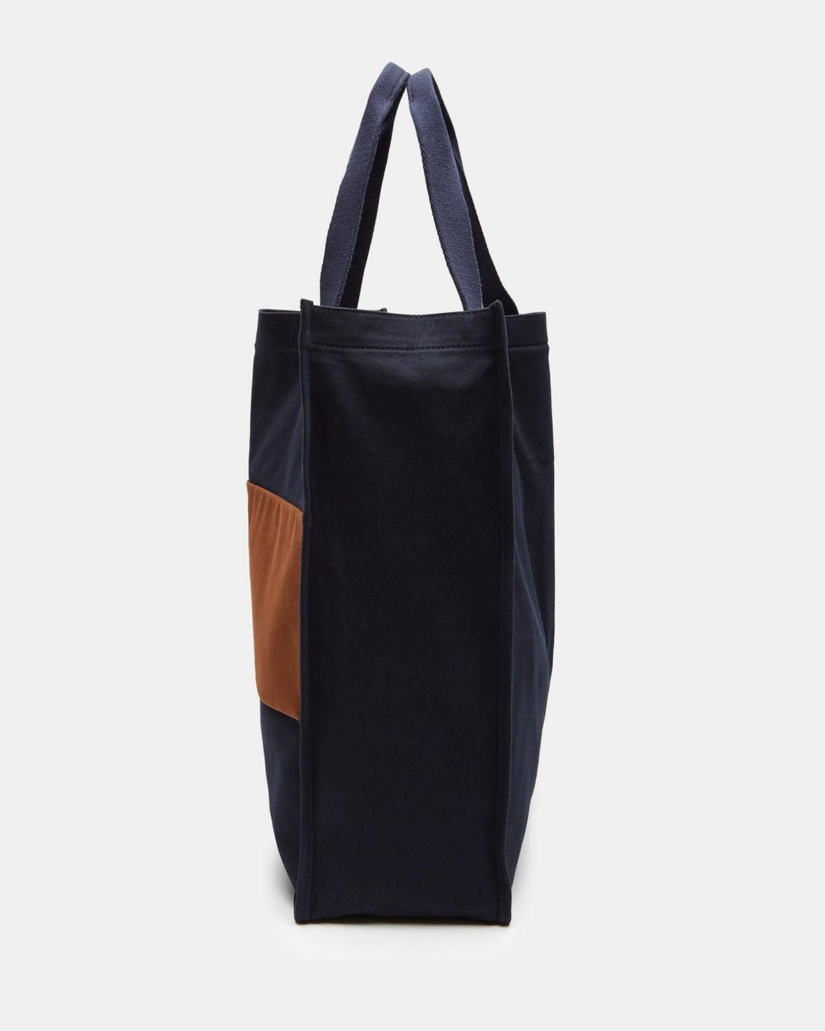 Colorblocked Market Tote
