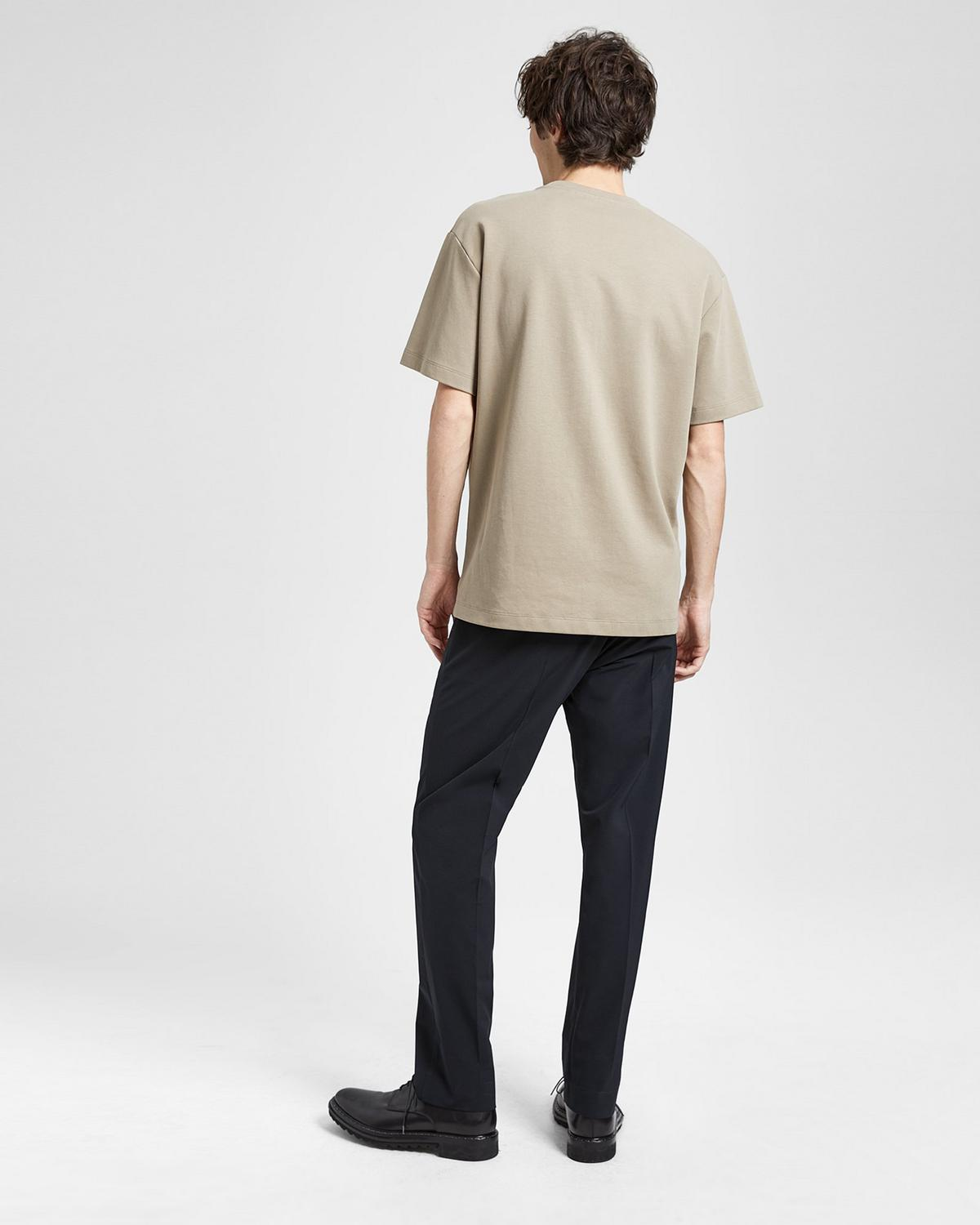 Compact Cotton Structure Tee