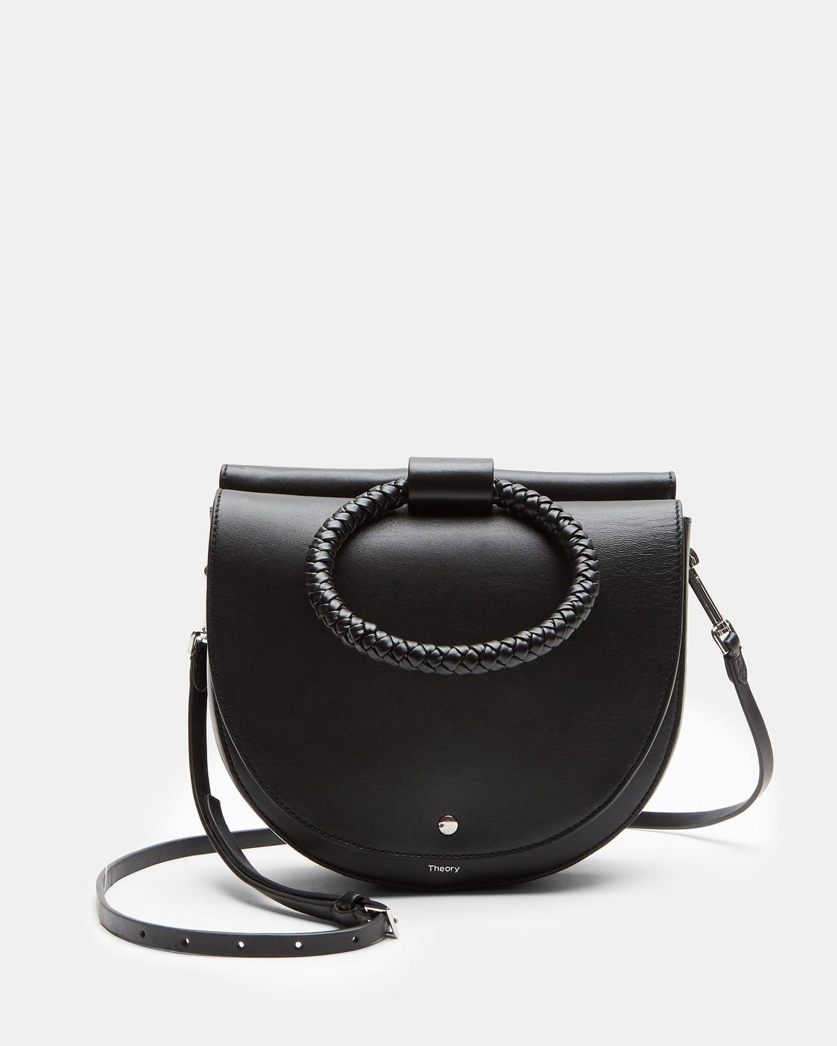 Large Whitney Bag With Braid Hoop in Nappa Leather
