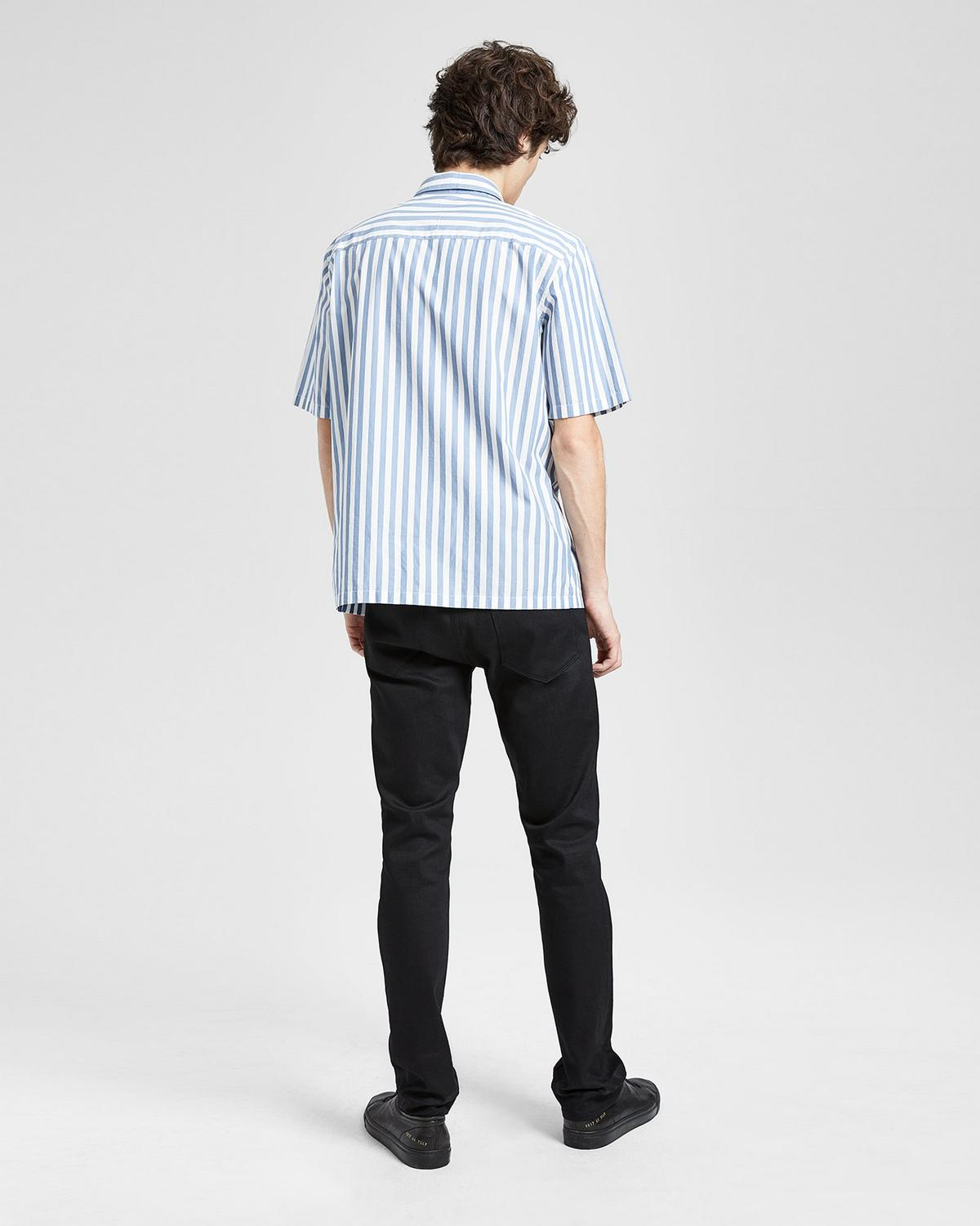 Cotton Striped Relaxed Shirt