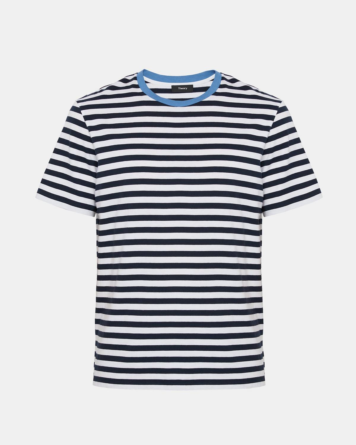 Cotton Striped Classic Tee