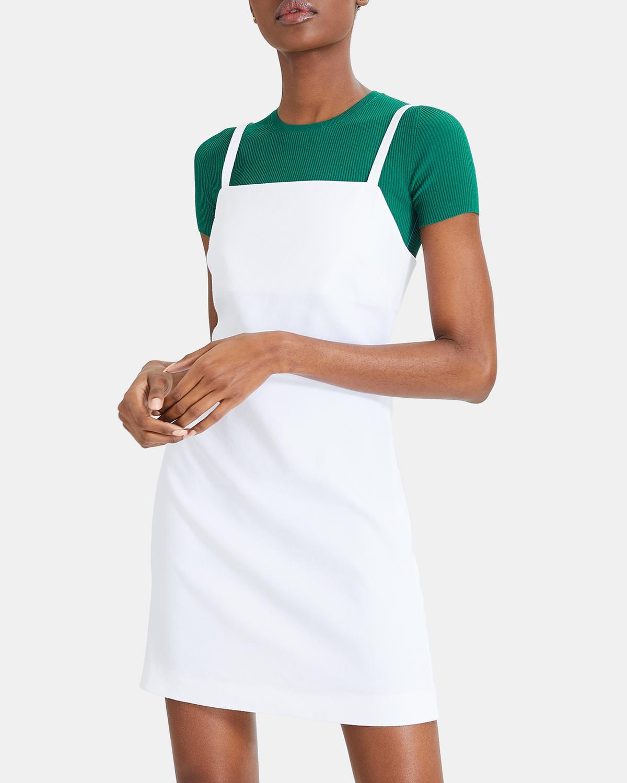 Weekend Mini Dress - Canvas