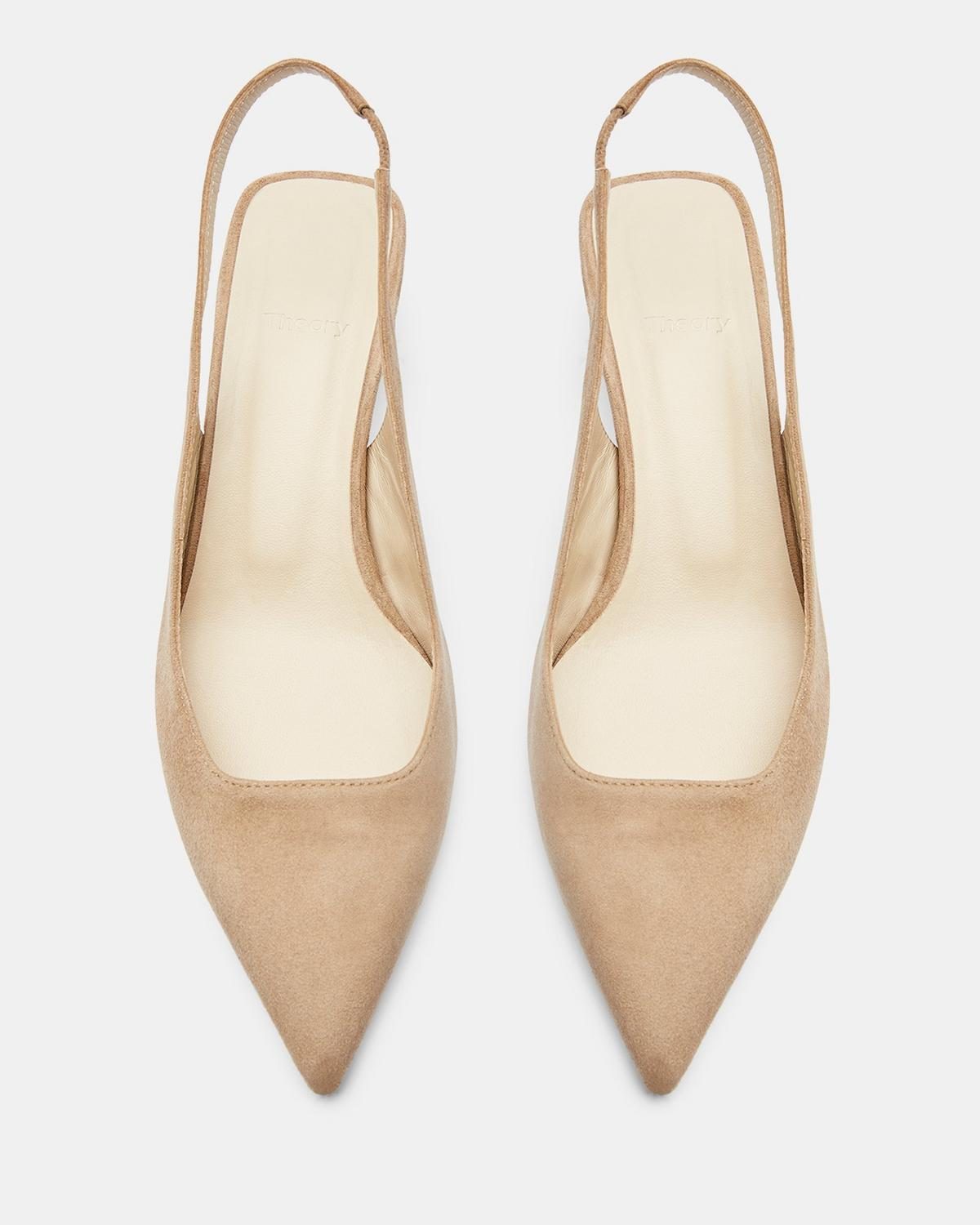 Suede Slingback