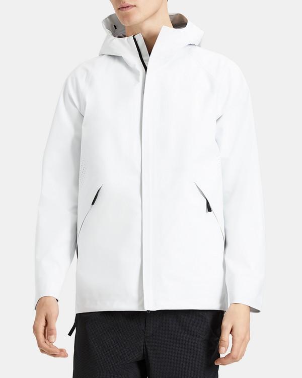 띠어리 맨  자켓 Theory Triple-Layer Poplin Hooded Jacket,IVORY