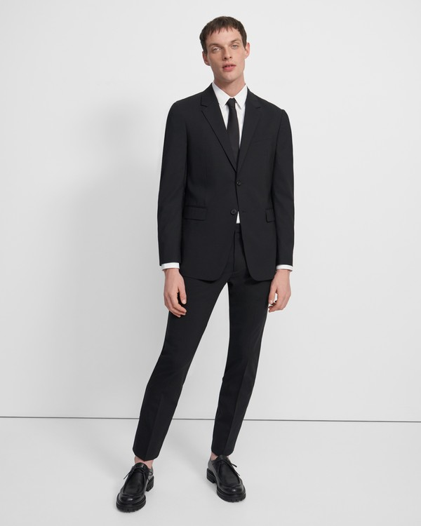 띠어리 맨 메이어 팬츠 Theory Mayer Pant in Stretch Wool,BLACK