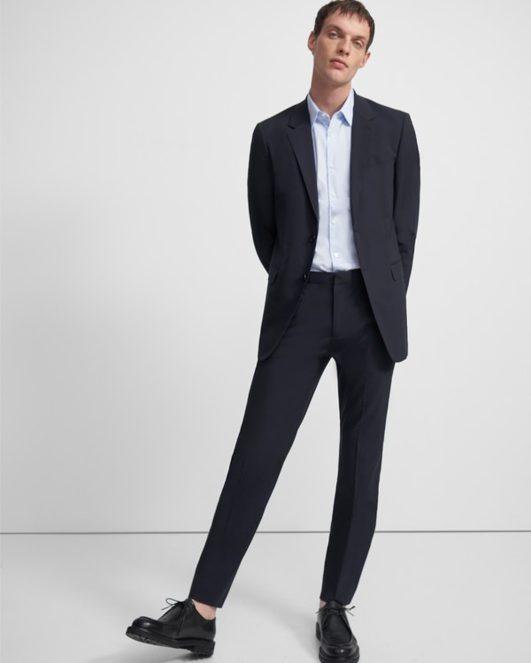 띠어리 맨 메이어 팬츠 Theory Mayer Pant in Stretch Wool,ECLIPSE