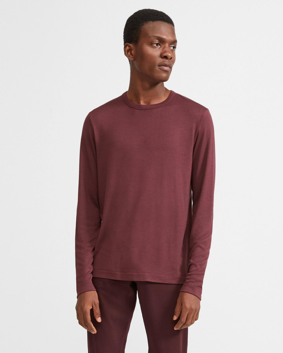 Modal Jersey Long-Sleeve Tee