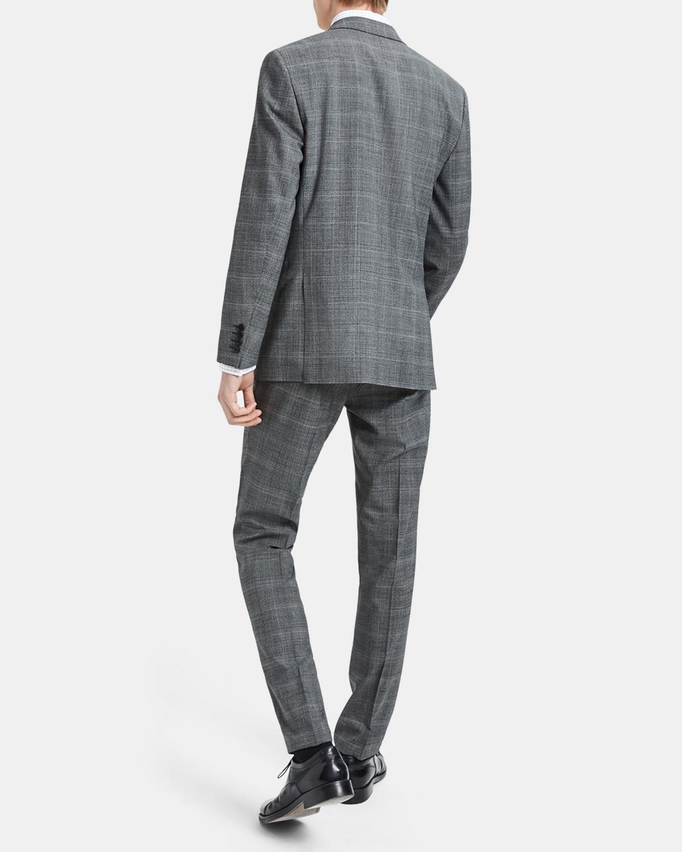 Wool Plaid Chambers Jacket Theory Glen Shirt