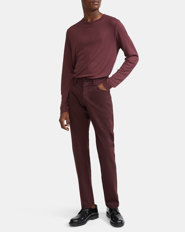 Tech Raffi 5-Pocket Pant in Compact Ponte